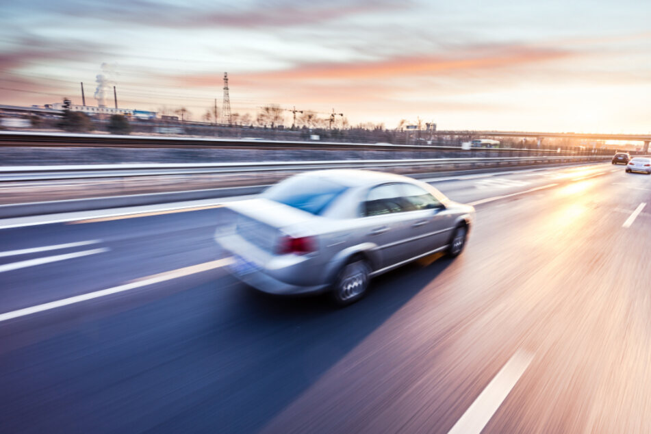 A Tesla driver leaned back and took a nap while going 90mph (stock image).