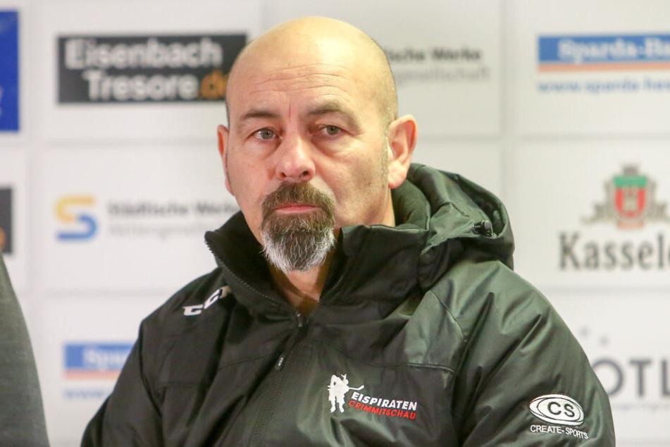 Eispiraten-Coach Daniel Naud.