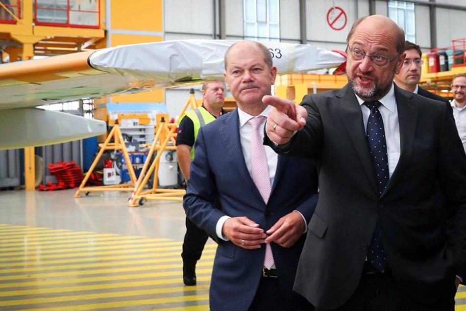 SPD-Kanzlerkandidtat Martin Schulz hat seine Pläne für eine gerechtere Verteilung von Flüchtlingen vorgestellt.