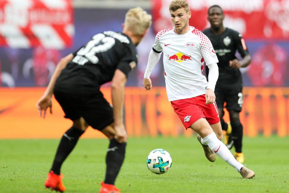 Die Fans von RB Leipzig sind besorgt. Kann Timo Werner durch eine Klausel wechseln?