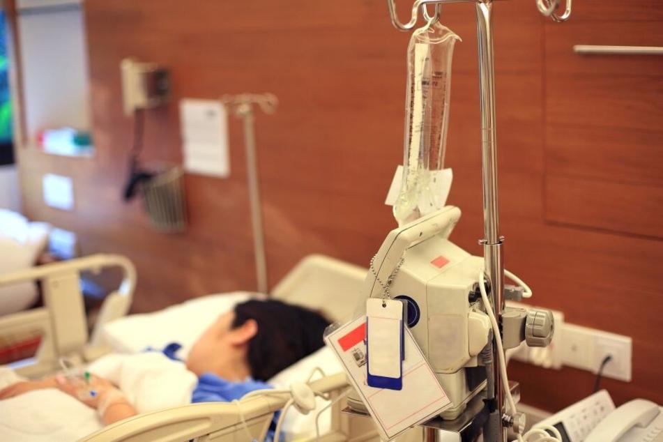 Lange Zeit verbrachte die Britin in einem Krankenhaus. (Symbolbild)