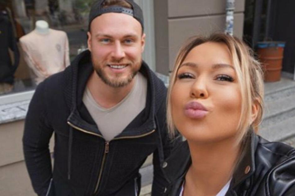 Chetrin Schulze mit ihrem Freund Mirko Mirwald.