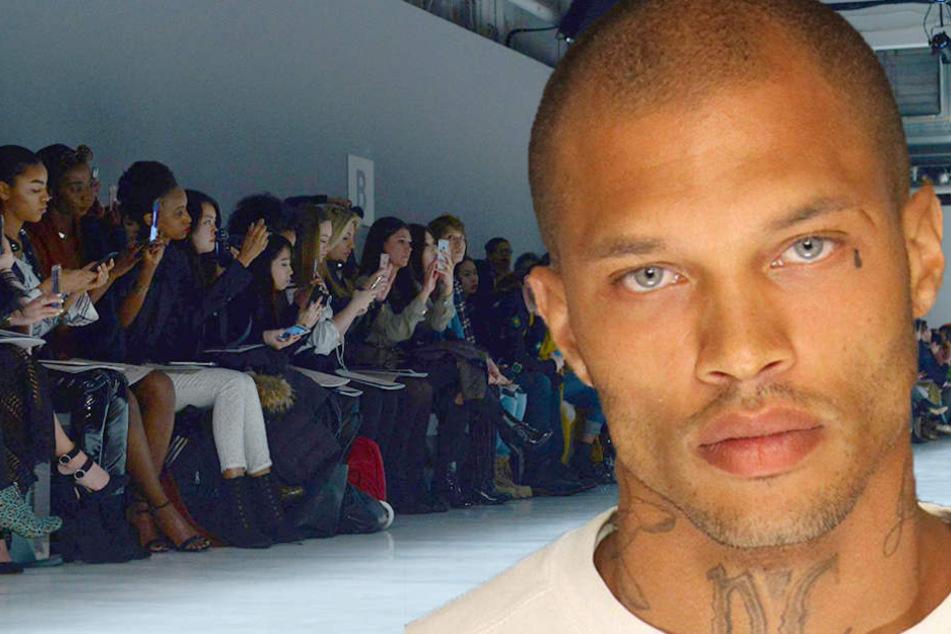 Heißester Krimineller der Welt läuft jetzt bei der New York Fashion Week