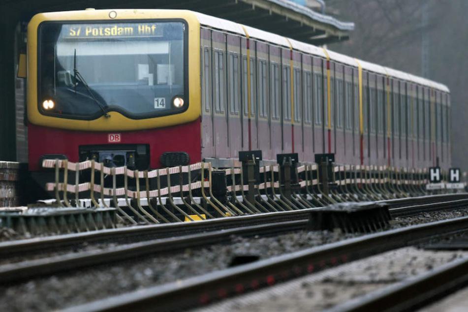 Auch die S-Bahn der Linie S7 zwischen Ahrensfelde und Potsdam ist betroffen.