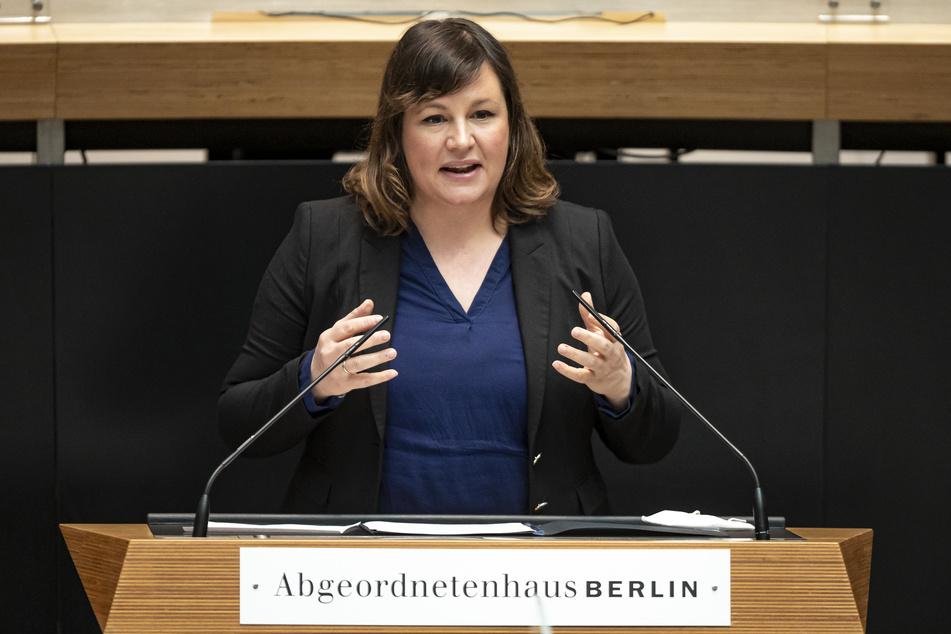 Grünen-Fraktionsvorsitzende Antje Kapek will nicht aufgeben.