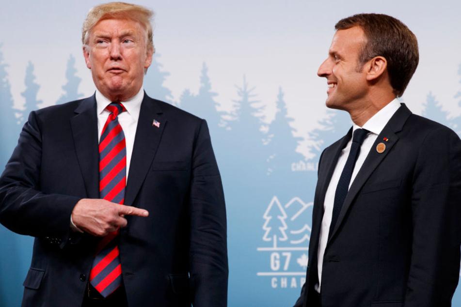 Medien: Trump versprach Macron