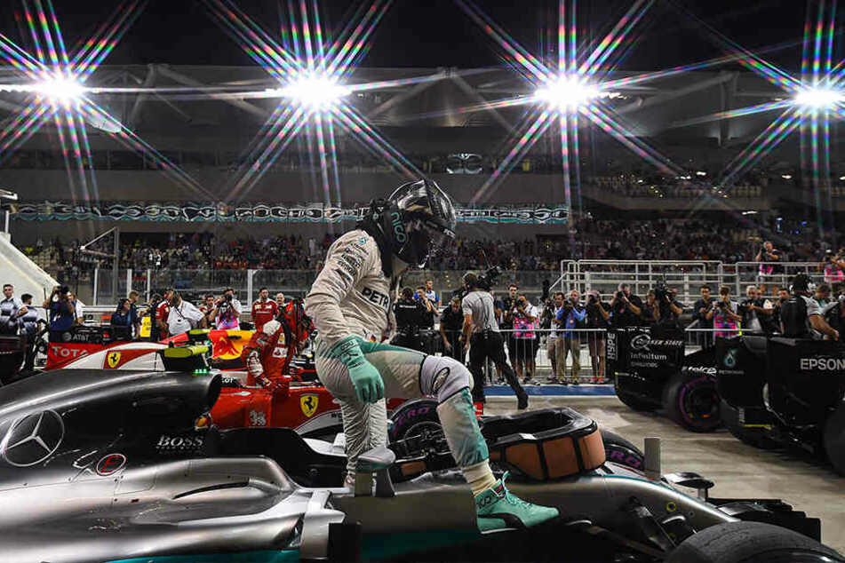 Mit dem zweiten Startplatz erreichte Nico Rosberg sein Minimalziel.