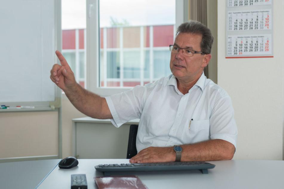 Pentacon-Geschäftsführer Michael Bledau (58) durchschaute die Abzocker aus  China.