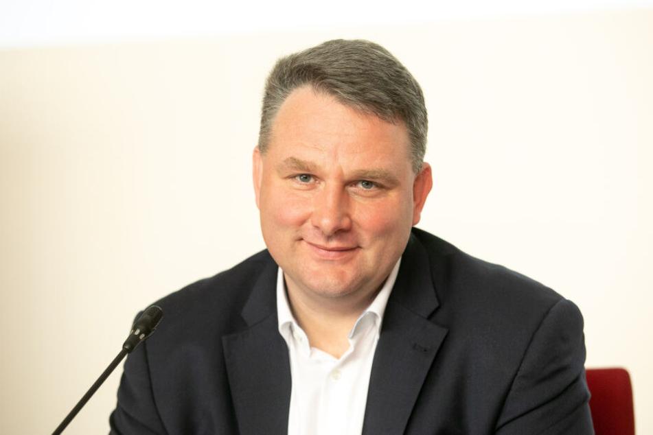 CDU-Fraktionschef Christian Hartmann (45) ohne Kostümierung.
