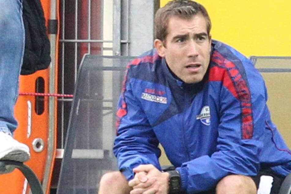 Nimmt jetzt immer auf der Bank neben René Müller Platz: Florian Fulland (32).