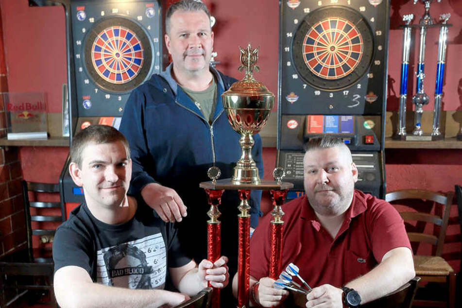 "Das Chemnitzer E-Darts-Team ""Evolution of Darts"" landete in Las Vegas unter den Top 10."