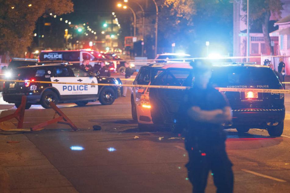 Die Polizei ist an Ort und Stelle. (Symbolbild)