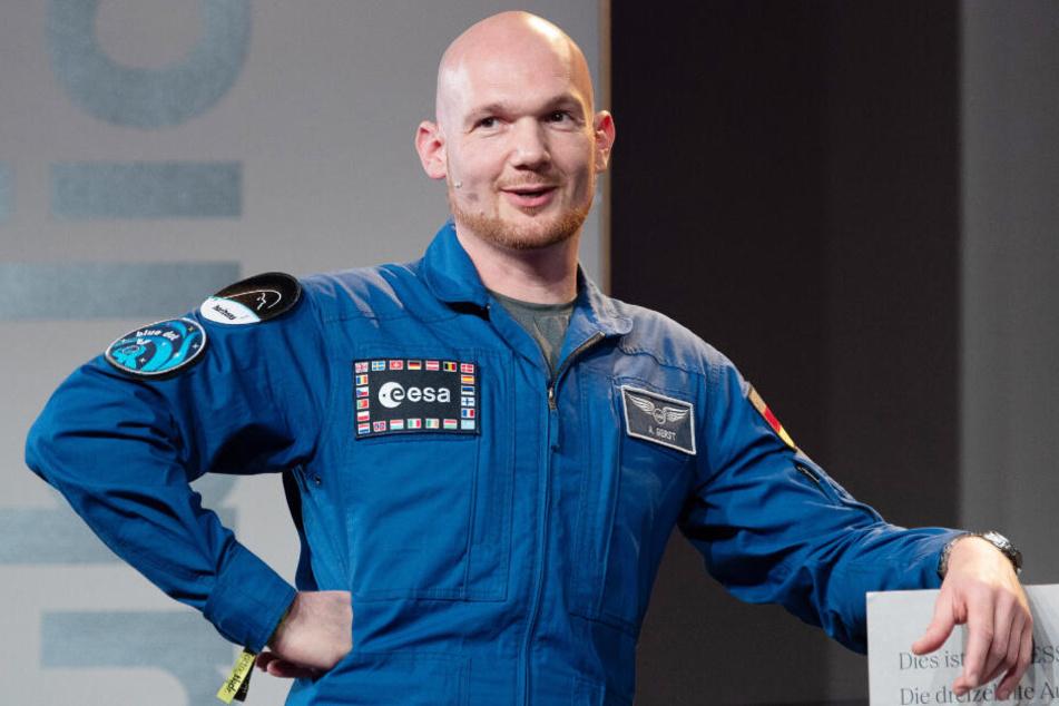 Astronaut und Geophysiker Alexander Gerst.