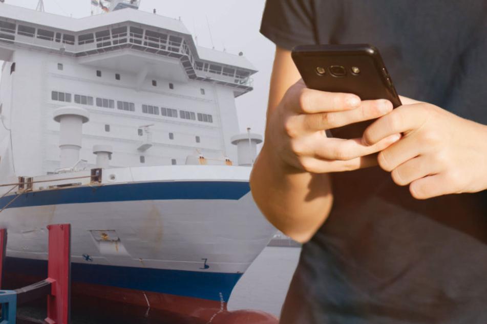 """Das Smartphone hatte sich in das Mobilfunknetz """"Telenor Maritime"""" eingewählt (Symbolbild)."""