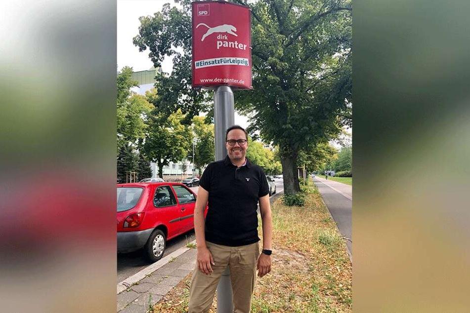 Dirk Panter will den Sprung in den Landtag schaffen.
