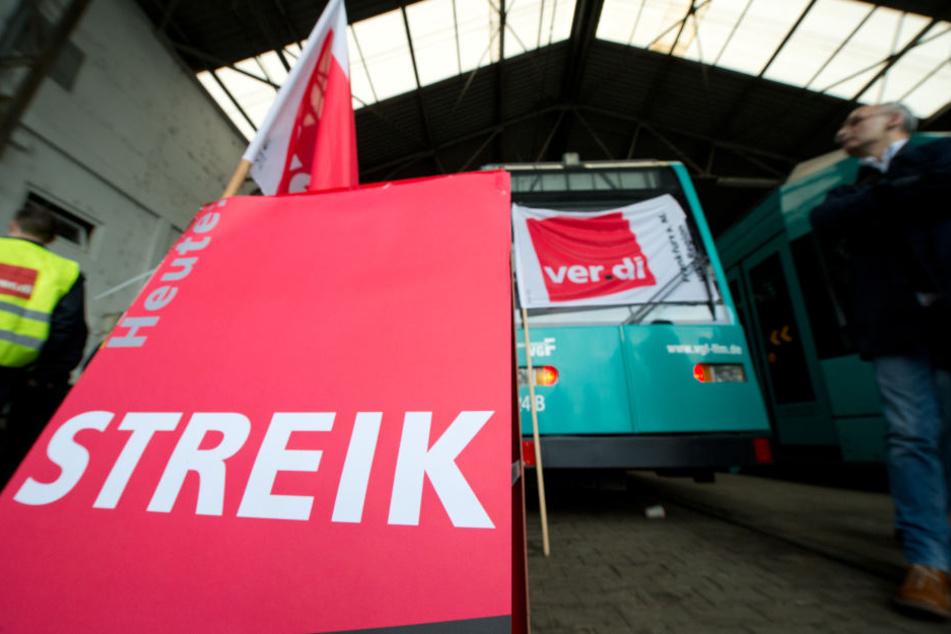 Die Gewerkschaft ver.di hatte zum Streik aufgerufen. (Symbolbild)