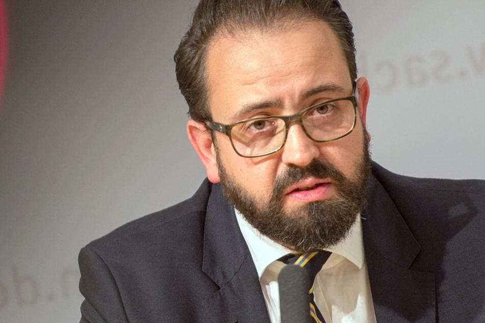 Der sächsische Justizminister Sebastian Gemkow lädt in Leipzig zur Podiumsdiskussion ein.