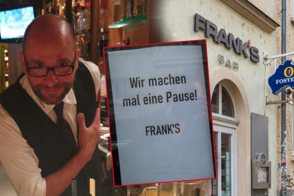"""Ende Legende? """"Frank's Bar"""" in der Neustadt zu"""