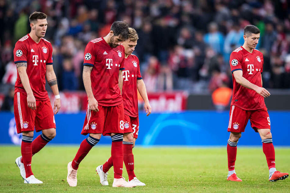 Die Spieler des FC Bayern München waren nach dem 1:1 zu Hause gegen Ajax Amsterdam enttäuscht, stehen mit vier Punkten aus zwei Spielen aber dennoch gut da.