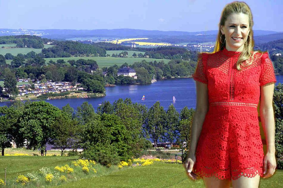 Kurz vor der Wahl: Stefanie Hertel wünscht sich ein weltoffenes Sachsen