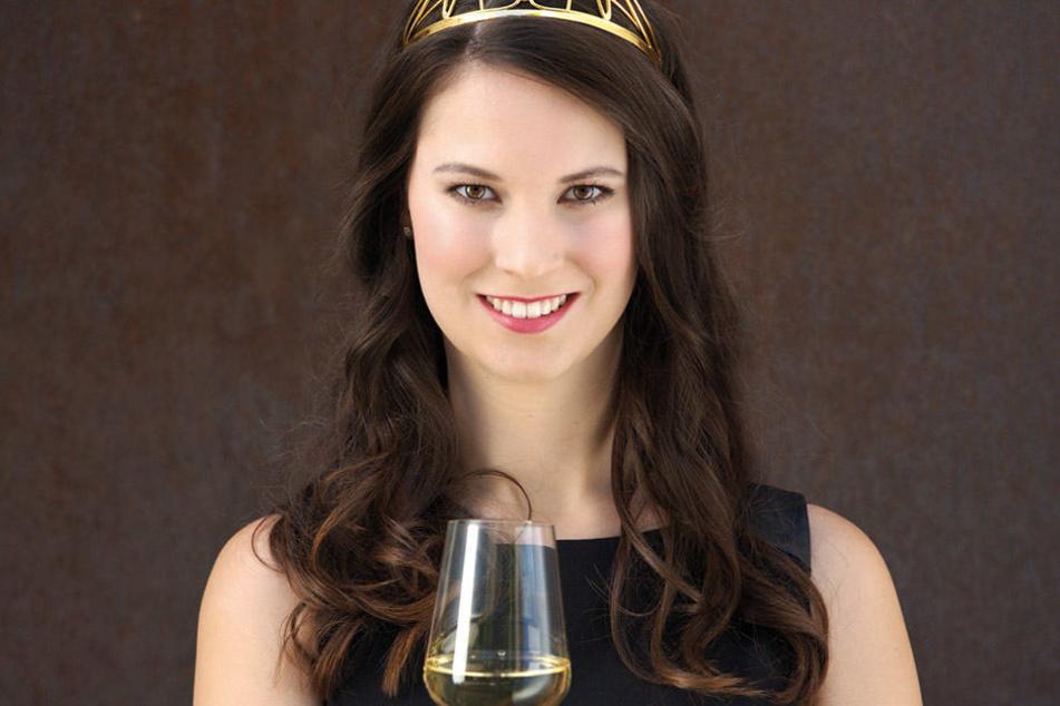 Christina Schneider ist die Deutsche Weinprinzessin.