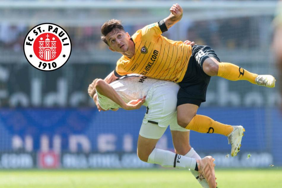 FC St. Pauli vergibt haushohe Führung gegen Dynamo Dresden