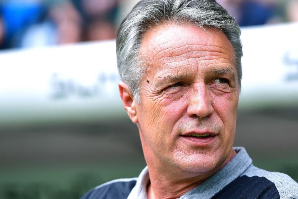 Der Vertrag von Uwe Neuhaus läuft am Ende der Saison aus.