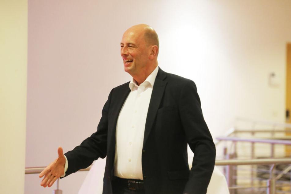 SPD-Landesvhef Wolfgang Tiefensee hofft auf eine weiter Zusammenarbeit.