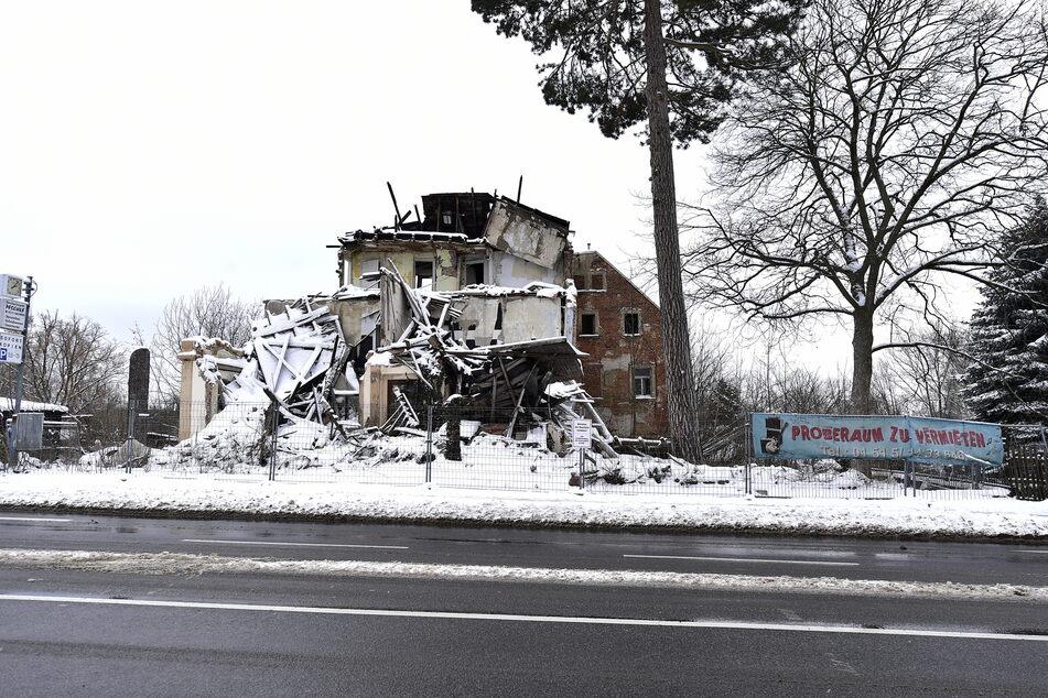 Chemnitz' schlimmste Ruine wartet an der Zschopauer Straße Ecke Clausstraße auf ihren Abriss.