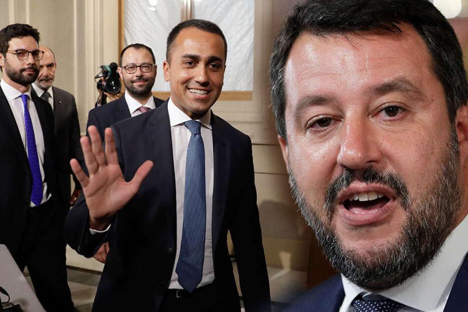Italien-Kracher! Salvini (fast) aus Regierung raus