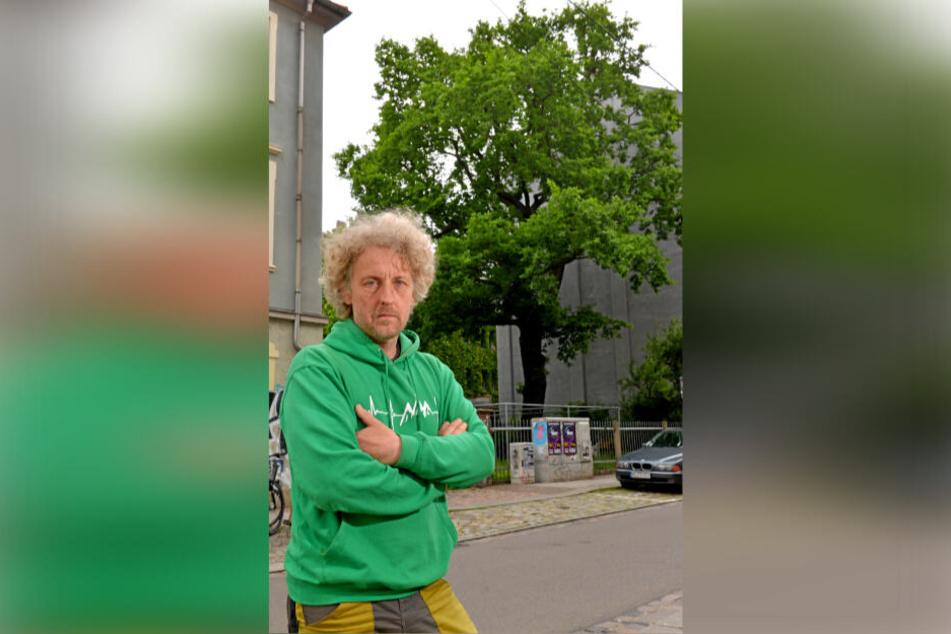Stadtrat Torsten Schulze (49, Grüne) will das 15-Euro-Ticket für Schüler und Azubis.