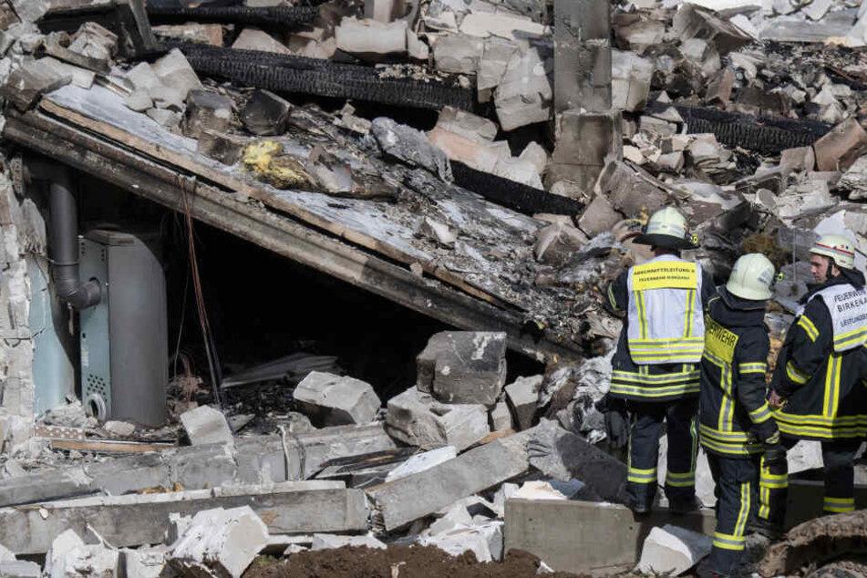 Das Haus des 59-Jährigen wurde komplett zerstört.