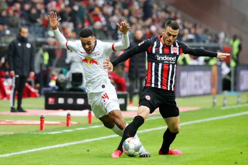 RB Leipzig hatte die Partie bei Eintracht Frankfurt im Anschluss mit 0:2 verloren.