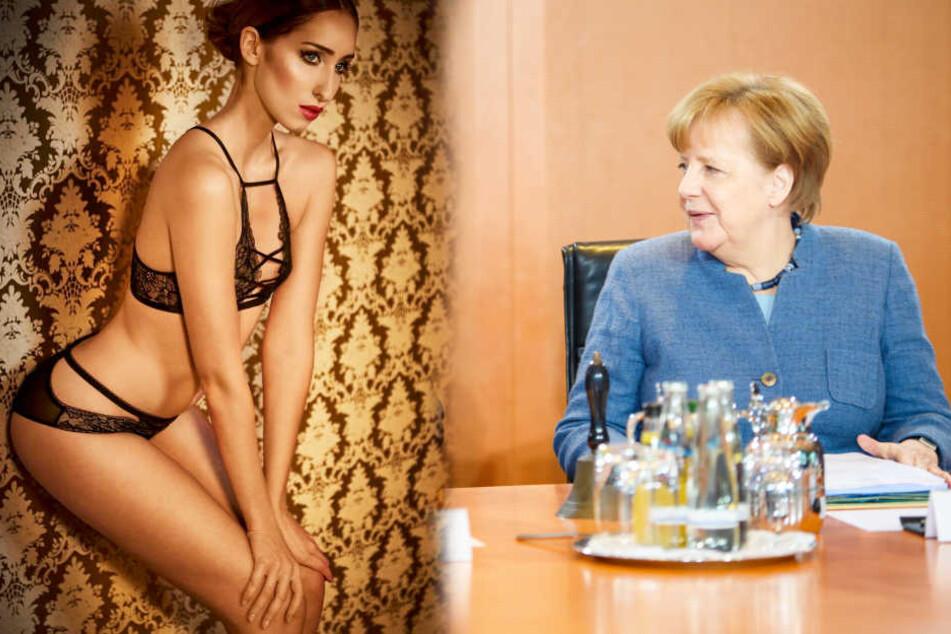 Marie-Thérèse Kaiser sagt Angela Merkel den Kampf an.