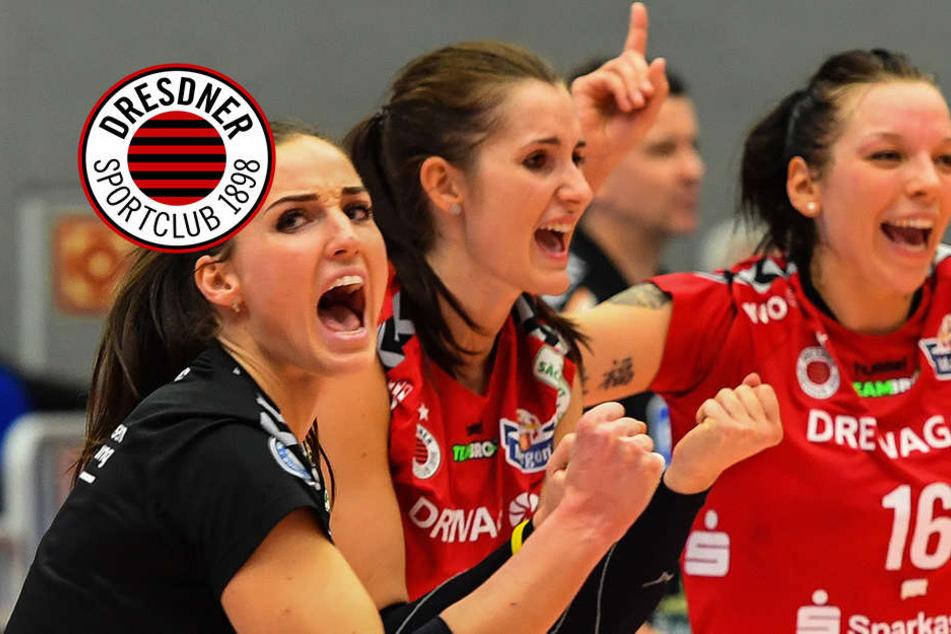 Dresdner SC macht's im Spitzenspiel ganz deutlich