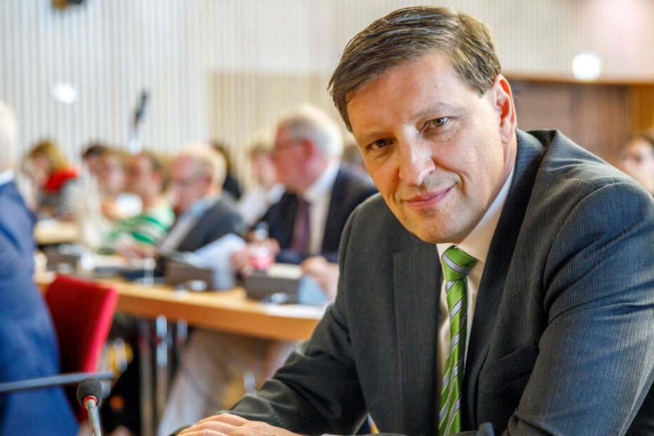 Sport frei! Stadtrat Jens Genschmar (50, Freie Wähler) wollte es genau wissen.