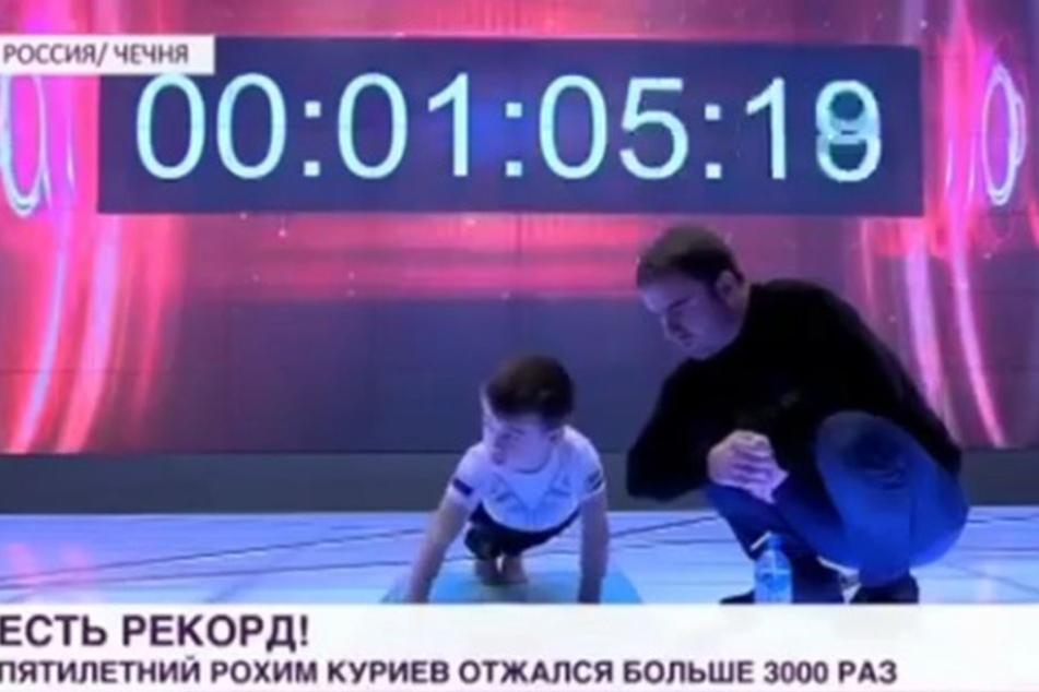 Dieses Mal lief alles rund, Rachim Kuriyevs Rekord ist endlich anerkannt.