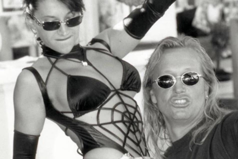 Party on: Carmen und Robert Geiss gegen in den 90ern ordentlich Gas.