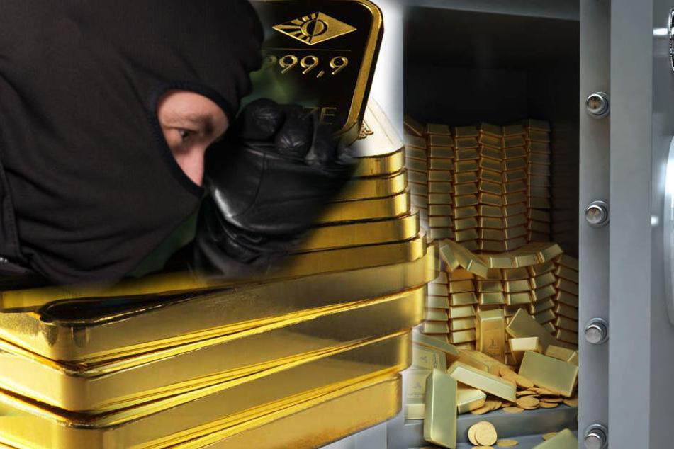 Die Täter sprengten einen Geldschrank im Goldhandel. (Symbolbild)