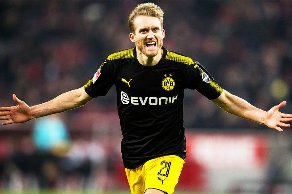 War beim BVB in 51 Spielen an 17 Toren direkt beteiligt: André Schürrle.