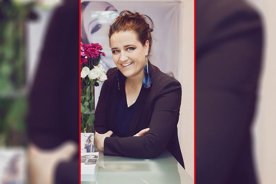 """Designerin Carla Beyer (39) startete ihre Karriere nach dem Studium mit dem Designer-Quartett """"K.I.W.I."""" - heute entwirft sie allein Kollektionen."""