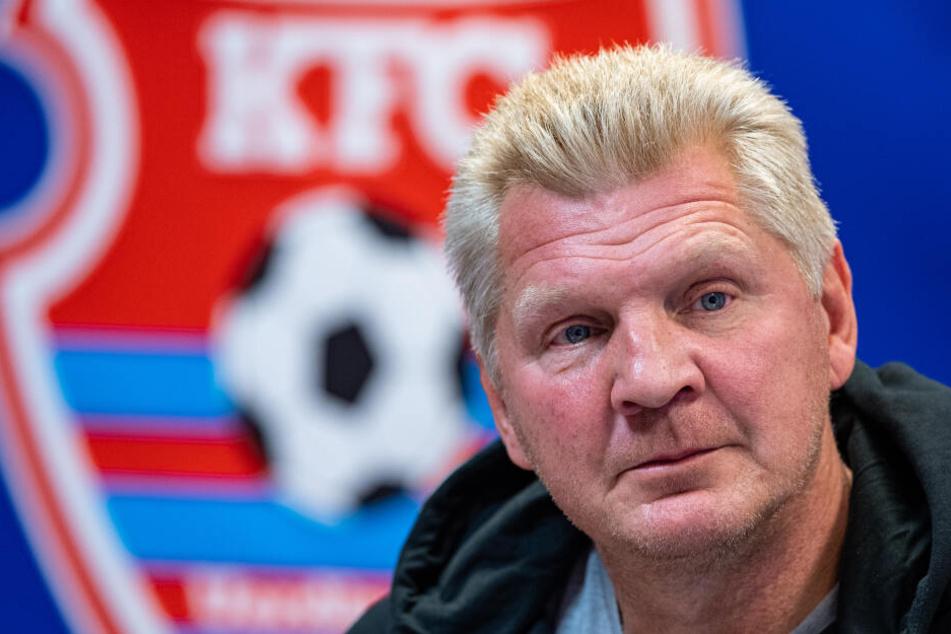 Stefan Effenberg, Manager des KFC Uerdingen, hat eine klare Meinung.