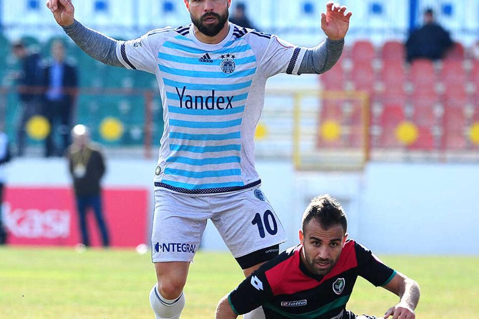 Mansur Calar (33) wird in der Türkei nie wieder Fußball spielen.
