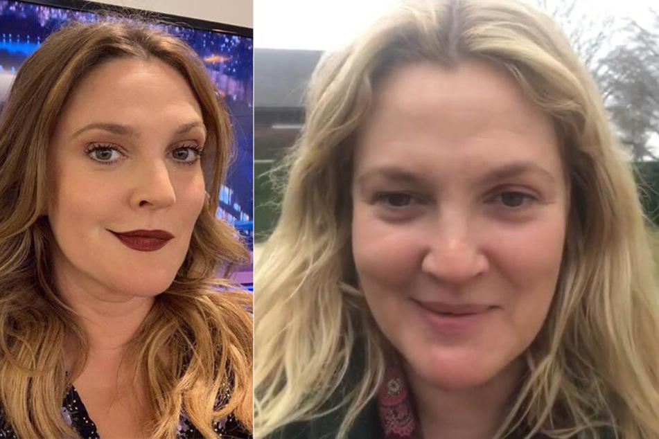 Drew Barrymore schwärmt, dass vor allem ihr Gesicht nun viel schmaler ist.