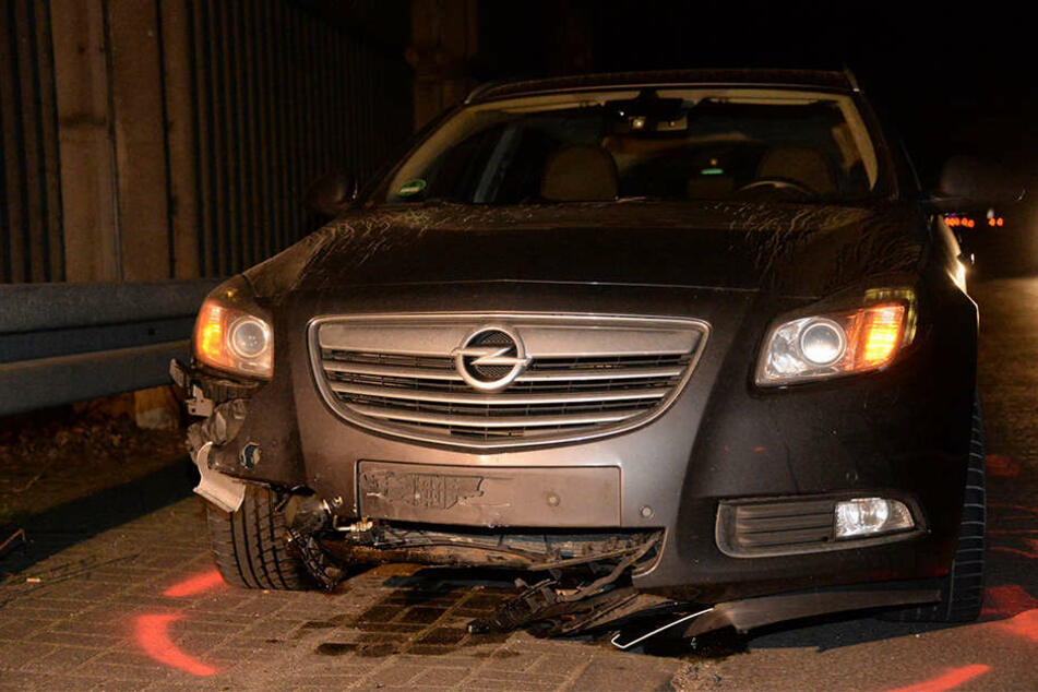 Mit diesem Auto wurde der 31-jährige Pole tödlich erwischt.