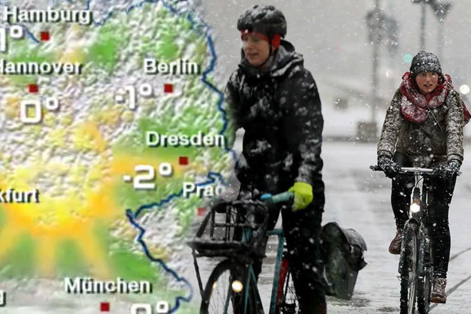 Der Dauerfrost kommt nach Berlin und Brandenburg.