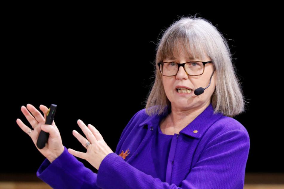 Die kanadische Nobelpreisträgerin für Physik, Donna Strickland (60), wird in diesem Jahr in Lindau beim Treffen mit dabei sein.