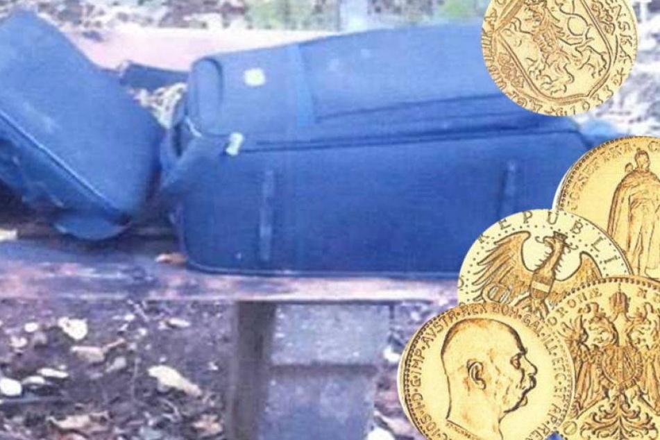 Gold-Koffer in Leipzig entdeckt, nur das Gold ist weg