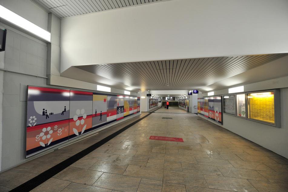 Chemnitz wird immer bunter! Jetzt gibt es Graffiti-Wände im Hauptbahnhof-Tunnel