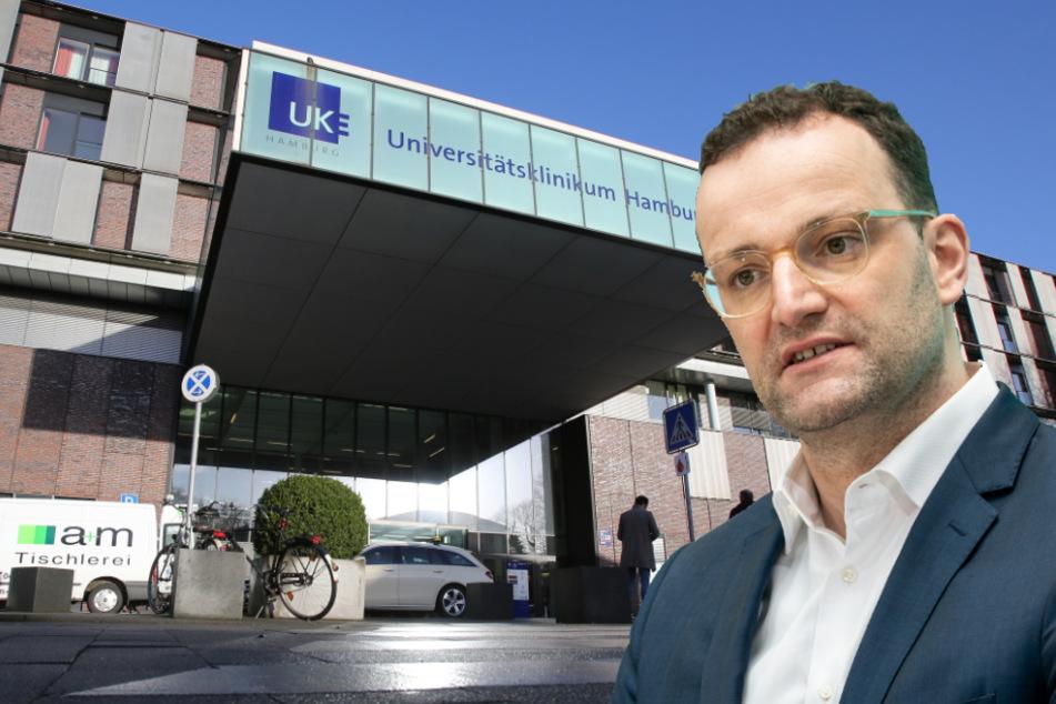 Hamburger Krankenhäuser fühlen sich von Gesundheitsminister Spahn im Stich gelassen